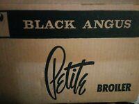 VTG BLACK ANGUS 'Petite' Oven Toaster Broiler ReTRo Chrome NEW NEVER USED USA