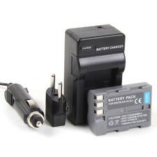 Cargador + Batería EN-EL3 EN-EL3e 1400mAh para Nikon D80, D90, D900
