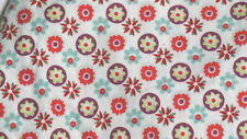 Crown Crafts medallions Baby Girl  Fitted crib sheet