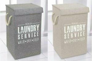 deluxe  Laundry Basket hamper clothes storage linen basket