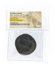 Roman Empire Mar. Aurelius, AD 161-180 AE Sestertius