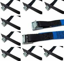 8 Stück Befestigungsriemen mit Klemmschloss für Fahrradträger Spanngurt schwarz