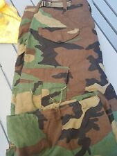 Us Military Army M65 Woodland Camo dpm Field Trouser medium regular Freepost