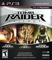 Tomb Raider Trilogy (PlayStation 3, PS3) Brand New