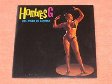 """HOMBRES G UNA MUJER DE BANDERA 80´S POP SPANISH ORIGINAL NUDE SEXY COVER 7"""""""