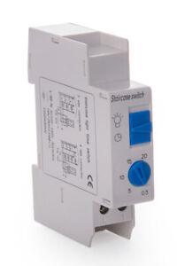 Elektronisch Treppenhausautomat 16A 230V Treppenlichtzeitschalter Zeitschaltuhr
