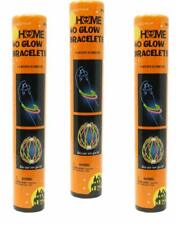 Party Glow Sticks Home Glow Bracelets 40, 3 Pack