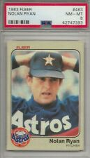1983 FLEER NOLAN RYAN PSA 8 NM -MT VERY NICE