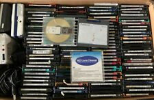 MiniDisc Lot - 4 Players / ~120 Used MiniDiscs / 1 Cleaning Disk