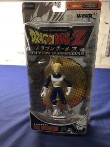 Dragonball Jakks SS Vegeta Saiyan Warriors 2006 Factory Sealed