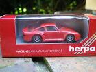 HERPA HO 1:87 PORSCHE 959 rouge ref 2501 neuf en boite