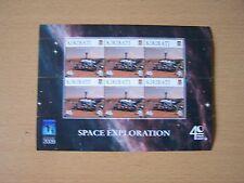KIRIBATI 2009 SPACE EXPLORATION 40C SHEETLET,CAT £6.00,U/M,EXCELLENT