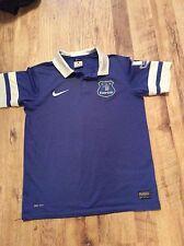 Kevin Mirallas #11 Everton Home Camiseta Jersey Nike 2013-2014 Chico Talla 12-13 años