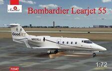 1/72 Bombardier Learjet 55 - NEW Amodel!