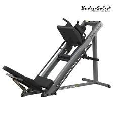 Body-Solid GLPH1100 Hack Squat Leg Press Calf Press Home Gym Fitness Equipment