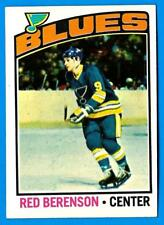 1976-77 Topps RED BERENSON (ex) St. Louis Blues