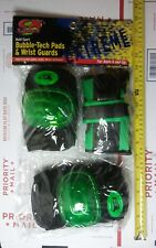 CX Sport Bubble-Tech Pads & Wrist Guards. Ages 6+ NEW NIP FREE SHIP  ROLLERBLADE