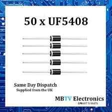 Vishay uf5408 ultraveloci RADDRIZZATORE IN PLASTICA 1000v 3a 1.7v 150a 150 ° C-confezione da 50