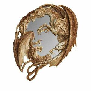 Morgan Theomachia Wall Mirror - Stunning Dragon Design Mirror