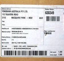 YOKOGAWA Rotameter RAKD41 T4SS 44VPE T80NNN BG K1 W4A Variable Area Flowmeter