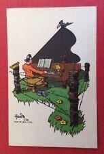 CPSM. BAR LE DUC. 55 - Illustrateur HARDY. Guerre 1940. Camp. Piano. Barbelés.