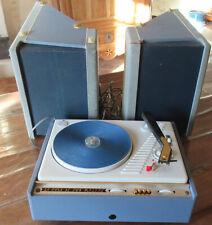 rare touurne disque année 60  en valise LA VOIX DE SON MAITRE