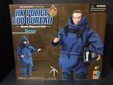"1/6 Dragon 12"" HK Police EOD Bureau Bomb Disposal Suit Simon"