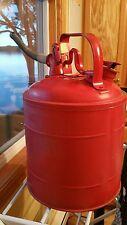 Vintage Protectoseal CO.  Chicago 249A - Safety Can NO. L974228 - 5 Gallon Gas