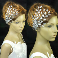 Wedding Bridal Full Crystal Pageant Headband Queen Tiara Rhinestone Accessory