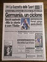 LA GAZZETTA DELLO SPORT N.142 DEL 17 GIUGNO 1996 - GERMANIA, UN CICLONE (GS7)