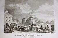 Riehen en 1795 Suisse Madame Royale Bourbon Échange Député Prisonnier Autriche