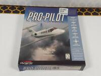 Sierra Pro Pilot The Complete Flight Simulator Big Box PC Game (1997, CD-Rom)