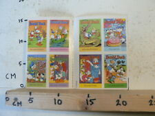 STICKER,DECAL DONALD DUCK SHEET 8 STICKERS 1994 DISNEY