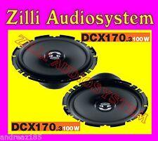 Hertz COPPIA DCX170.3 dcx 170.3 2 vie Coax 100 W Nuovi  2013 GARANZIA Italia