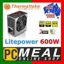 Thermaltake TT Litepower 600W Gaming Power Supply ATX PC Desktop PSU 2x PCI-E