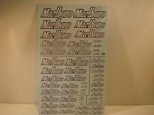 "DECALS 1/43 - 1/32 - 1/24 - 1/18 TABAC "" MARLBORO "" 2007  - VIRAGES  T229"