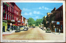1952 Postcard: 'Talbot Street- Aylmer, Ontario, Canada'
