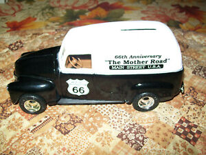 """Ertl #7625 """"Route 66 Anniversary"""" 50 Chevy Panel Bank 1:25 Scale MIB"""