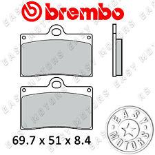 07BB15.SA COPPIA PASTIGLIE FRENO BREMBO ANTERIORE APRILIA RS 250 95>97