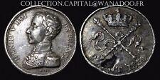 Module de 5 Francs en étain Henri V Londres? 2 Aout 1830