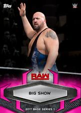 Topps SLAM WWE Big Show PINK 2017 BASE VARIANT [DIGITAL] 50cc