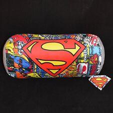 SUPERMAN Design Cuscino rafforzare CAMERA DA LETTO CUSCINO VIAGGIO MORBIDO COMODO Kids 40 cm
