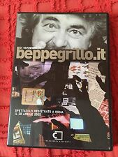 Dvd Beppe Grillo Roma 2005 Beppegrillo.it