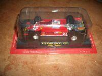 Ferrari F1 Collection 126CK Gilles Villeneuve Model + fas. Fabbri DIE CAST 1:43