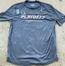New ListingTeam Issued Colorado Avalanche Player Fanatics 2021 Playoff Shirt Cale Makar