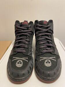 Nike Dunk Sb High Black Melivn Size 10.5 Clean 2005 Pink Box Rare