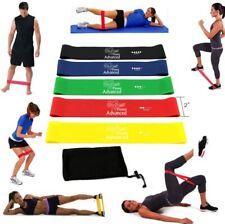 Fitness Advanced Bands Set von 5 Qualität Übung/Widerstand Bands