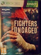 Fighters Uncaged Xbox 360 Kinect Nuevo precintado Lucha acción en castellano