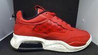 Jordan Max 200 Men Lifestyle Sneakers Shoes  Fire Red Black Sail (CD6105-601)