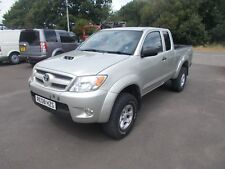 2008 toyota hilux extra cab 2.5 turbo diesel alloys air con alloys clean no vat